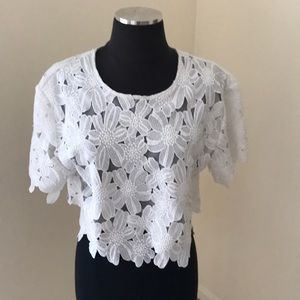 Alythea Cut out white Top